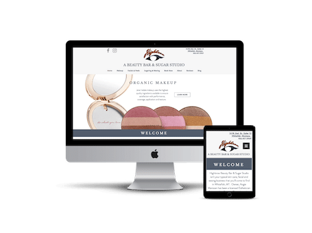 Highbrow Beauty Bar Whitefish MT | Weblast Marketing Web Design Montana