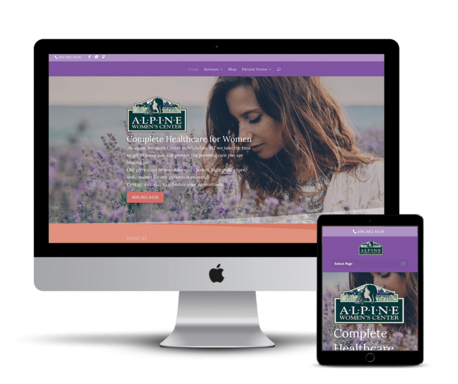 Alpine Women's Center| Weblast Marketing Web Design Montana